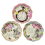 Truly Alice Paper Plate Set