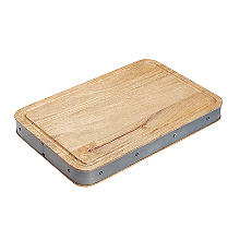 Industrial Kitchen Handmade Rectangular Wooden Chopping Board