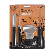 4 Piece Pumpkin Carving Set