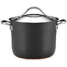 Anolon Nouvelle Copper 24cm Lidded Stockpot 7.6L