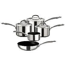 Circulon Ultimum Stainless Steel 5-Piece Pan Set