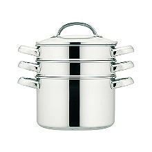 Prestige 24cm Stainless Steel Multi-Steamer 5.7L