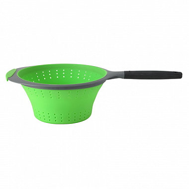 OXO Good Grips Silicone Collapsible Colander with One Handle