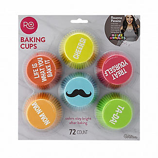 Rosanna Pansino by Wilton Cupcake Cases Assorted Pack of 72 alt image 2