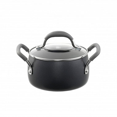 Lakeland Hard Anodised Bell Shaped 16cm Casserole Pan
