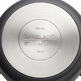 Lakeland Hard Anodised Bell Shaped 16cm Casserole Pan alt image 6