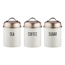 Typhoon Vintage Copper Canister Trio 950ml