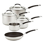 Meyer 5-Piece Stainless Steel Induction Pan Set 74003