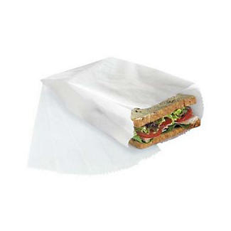 50 Food Saver Waxed Paper Sandwich Storage Bags