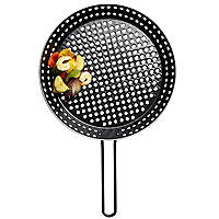 Barbecue Perforated Frying Pan - 30cm