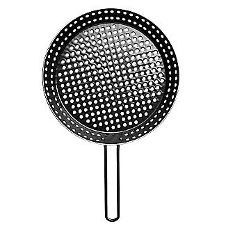 Barbecue Perforated Frying Pan - 30cm alt image 2