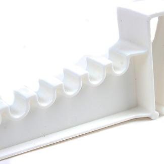 2 Over Door Plastic Ironing Hooks - Holds 10 Hangers alt image 5