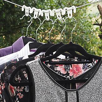 12 Washing Line Clothes Hanger Hook Ups alt image 2