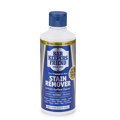 bar keepers friend cleaner stain remover 250g. Black Bedroom Furniture Sets. Home Design Ideas