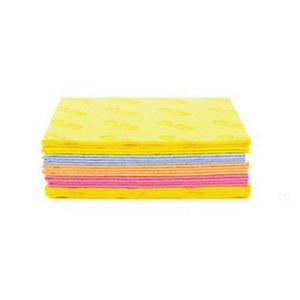 10 Soak-Ups Absorbent Large Cleaning Sponge Cloths