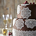 Lace-Look Silicone Icing Mats