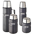 Thermos® Black King Flasks