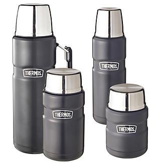 Thermos® Black King Flasks