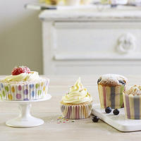 Spots and Stripes Baking Cases