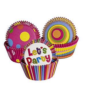 50 Bright Cupcake Cases