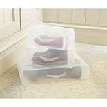 Lakeland Home Instant View Shoe Boxes