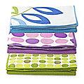 2 Sparkle-Finish Kitchen Towels