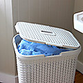 Faux Rattan Laundry Baskets