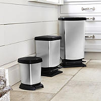 Metallic Effect Pedal Bins