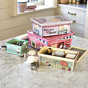 Vintage Sweet Storage Boxes