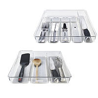 Clear Drawer Organisers