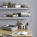 Knit-Effect Trays and Pots Storage Range
