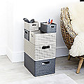 Rotho Lattice-Effect Storage Baskets
