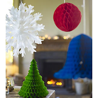 Fold-Out Paper Decorations