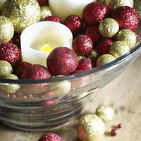 Finishing Touches Glitter Balls