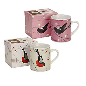 Magpie Birdy Mugs
