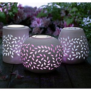 Porcelain Solar Lamps