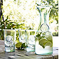 Authentic Recycled Glassware
