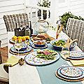 Amalfi Melamine Tableware