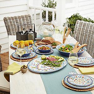 Amalfi Melamine Tabelware
