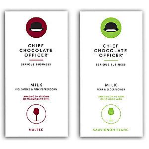 The Wine Bar Chocolate Range