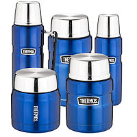 Thermos® Blue King Flasks