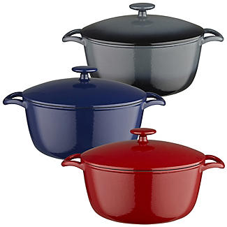 Lakeland 26cm Cast Iron Casseroles