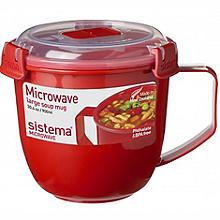 Sistema® Klip It Soup Mugs