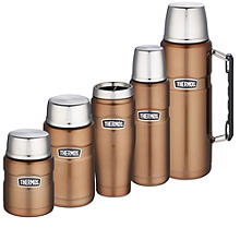 Thermos King Isolierkannen, kupfer