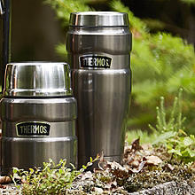 Thermos King Isolierkannen, grau