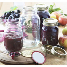 Blackberry & apple jam