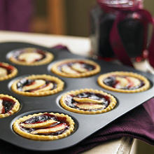 Blackberry jam & apple tarts