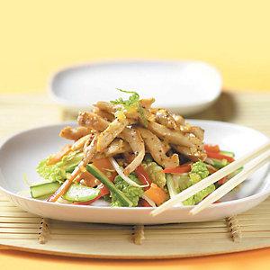 Warm sticky chicken salad by Liz Franklin