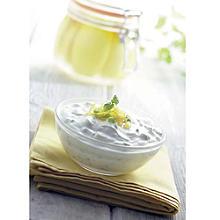 Yoghurt & stem ginger relish by Liz Franklin