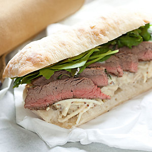 Skirt Beef with Celeriac Remoulade